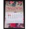 D1d Kalendarz 1-dzielny z wypukłą główką i kalendarium autorskim