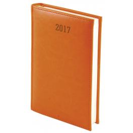 WN1209 Kalendarz A5 dzienny przeszywany jednolity