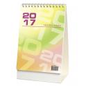 WN1237 Kalendarz stojący, biurkowy daszek tygodniowy