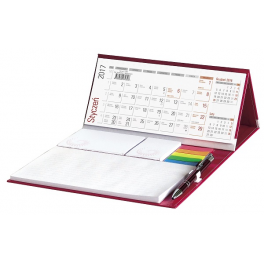 WN1263 Kalendarz biurkowy z długopisem