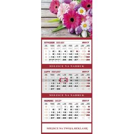 WN1255 Kalendarz trójdzielny