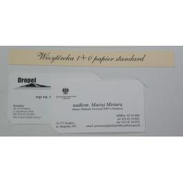 Wizytówki druk cyfrowy, ekspress