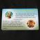 karty plastikowe białe, zaokrąglone rogi, PVC 0,76, wypukłe UV