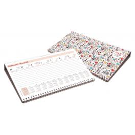 WNKB048B, Kalendarz leżący na podstawce, tygodniowy