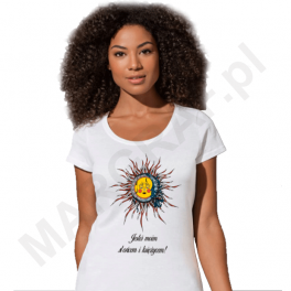 Koszulka z nadrukiem grafiki / foto DTG