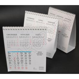 Kalendarz daszkowy 6-planszowy pionowy z 3 miesiącami