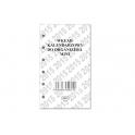 SSD5 Wkład kalendarzowy do organizera mini