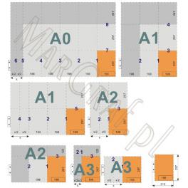Składanie rysunków od A3 do powyżej A0