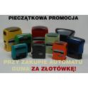 Pieczątkowa promocja: Automat + guma