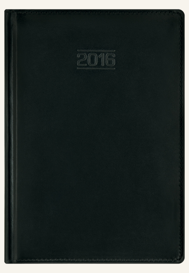 TC1 Kalendarz książkowy A4 classic skóra naturalna