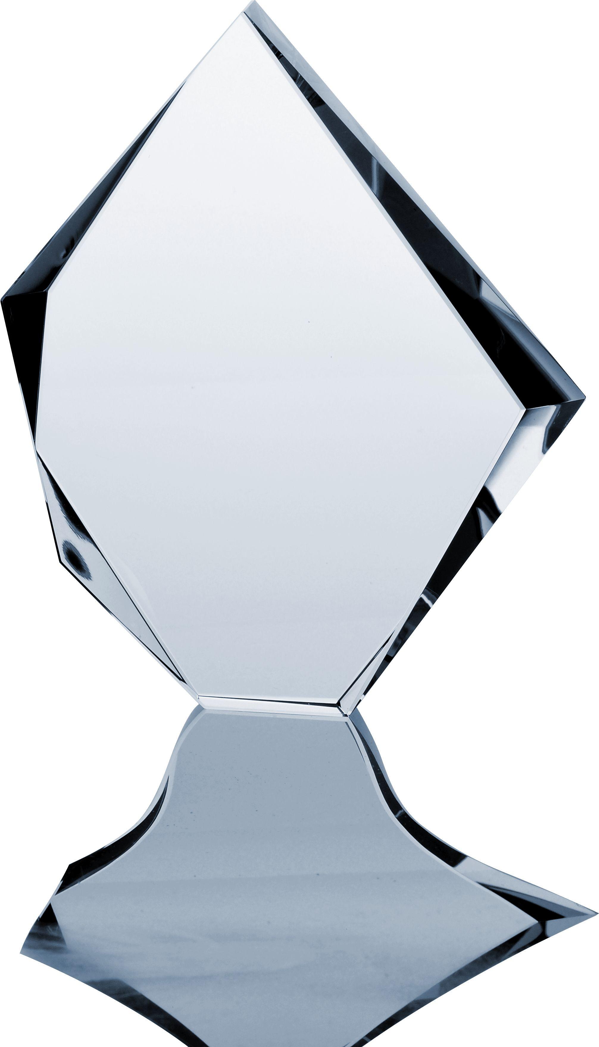 Szklana statuetka C036
