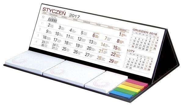 WN1262 Kalendarz z notesem MAXI