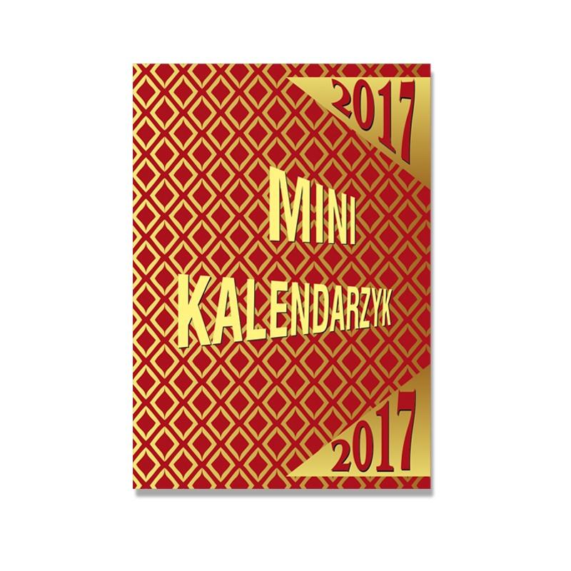 SSK10 Kalendarz MINI oprawa kartonowa