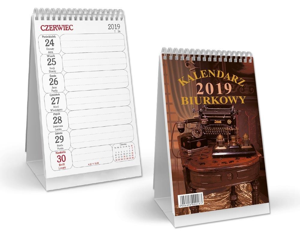SSB3 Kalendarz Biurkowy Pionowy-spirala