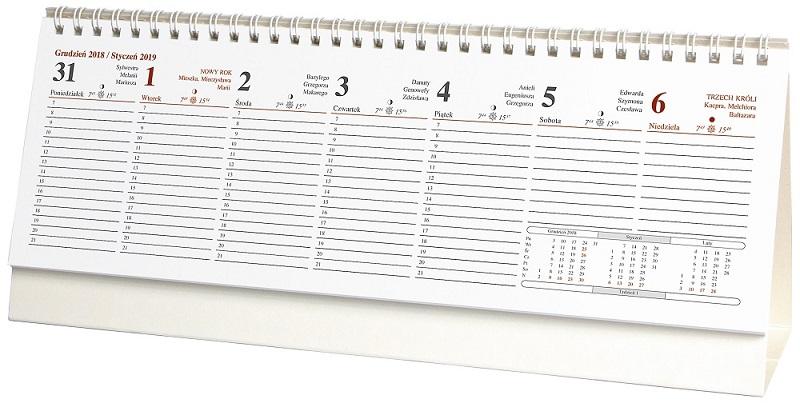 WN1239 Kalendarz stojący