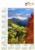 LMIX1-LMIX2 kal. PL 1 - PL 30 zestaw kalendarzy ściennych