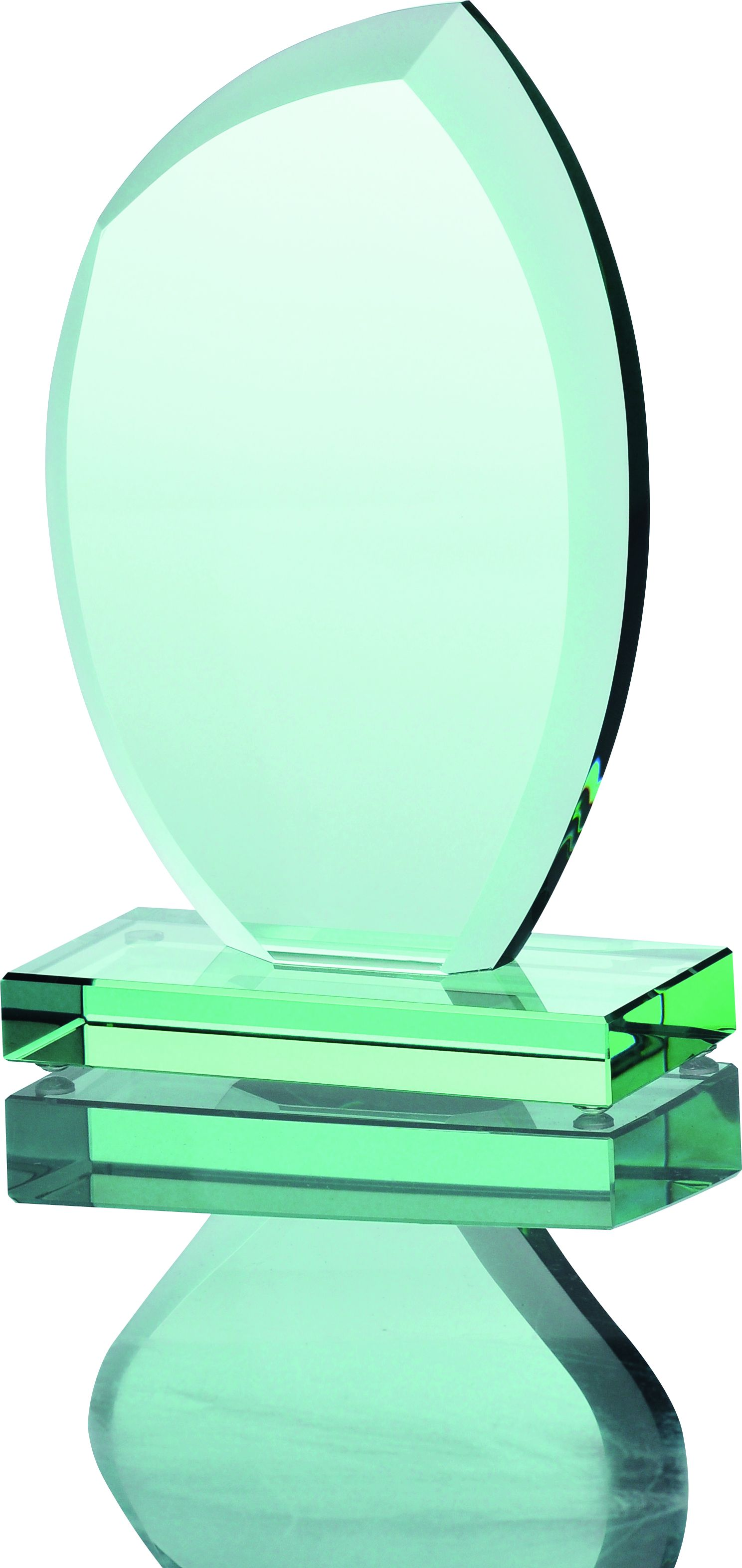 Szklana statuetka G010