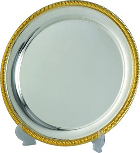 Patera talerz metalowy G122631-ST, G122626-ST, G122620-ST
