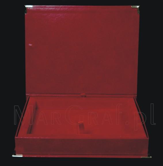 Pudełko / Etui welurowe na dyplom okolicznościowy