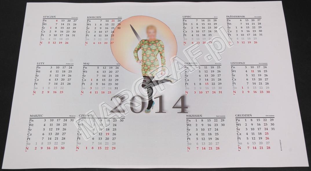 Foto-kalendarz 1-planszowy A3