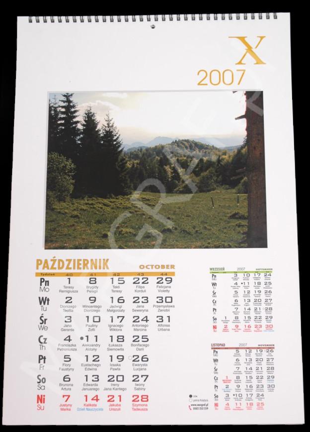 Foto-kalendarz 12-planszowy A3+