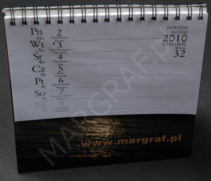 Foto-kalendarz daszkowy z Twoim zdjęciem