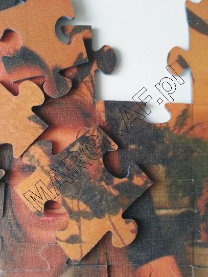 Puzzle A4 (karton / tkanina) z Twoim zdjęciem
