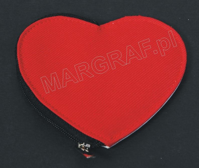 Portmonetka (serce) z nadrukiem foto