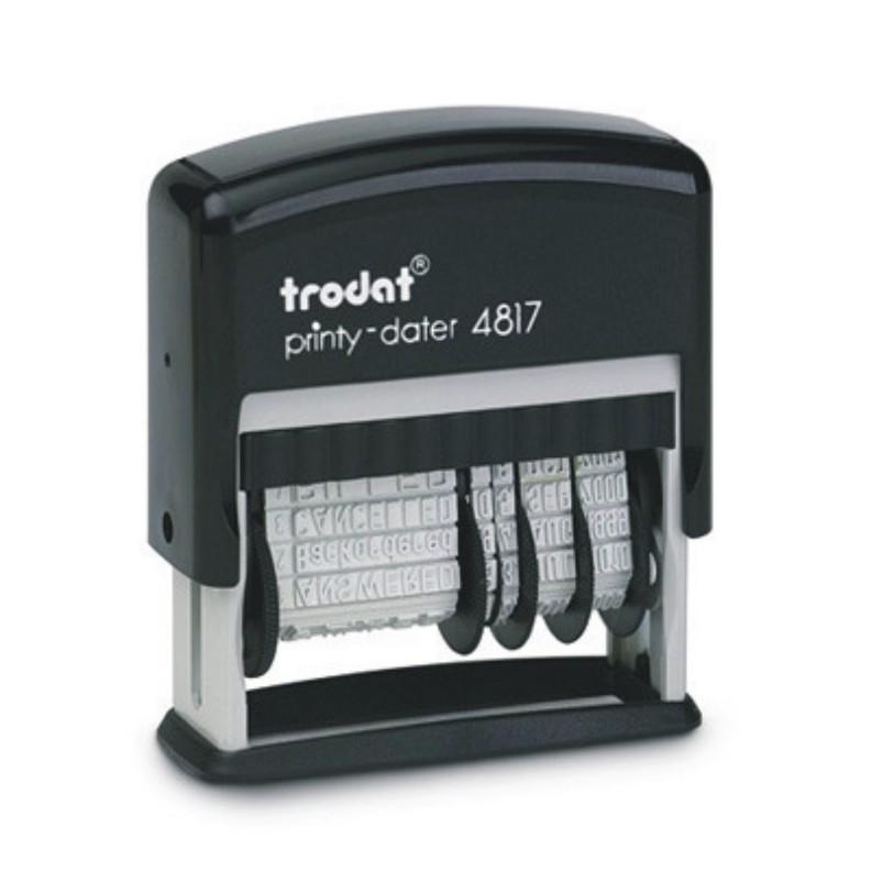 Datownik Printy 4816, 4817, 4822 z gotowymi hasłami TRODAT
