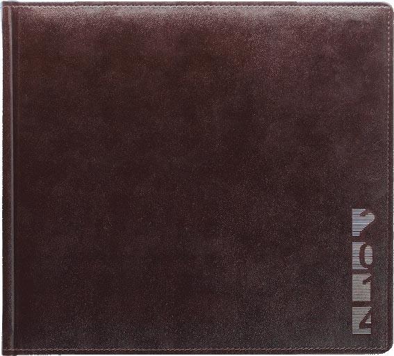TM1 AMBER-7 Kalendarz książkowy 3/4 A4 poziomy, multiplaner