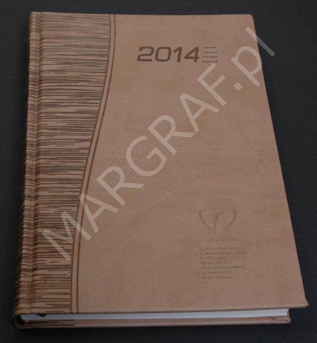 Znakowanie kalendarza książkowego