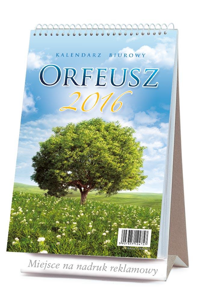 LBF2 Kalendarz biurowy ORFEUSZ stojący pionowy z odwracanymi kartkami
