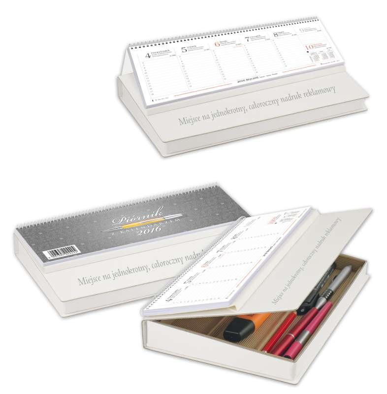 LBF9 Piórnik z kalendarzem, Kalendarz biurowy 2015
