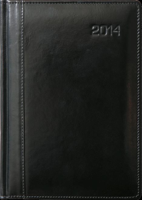 TU1s Kalendarz książkowy A4 plus skóra naturalna