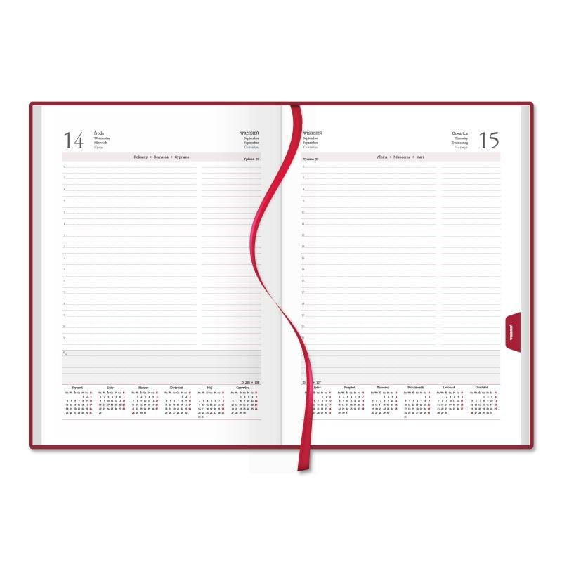 SSK0-1 Kalendarz książkowy A4 dzienny