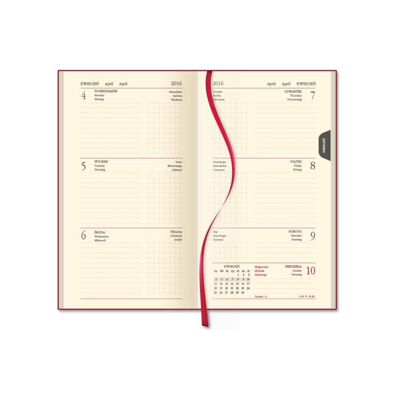 SSK4-1 Kalendarz mini terminarz