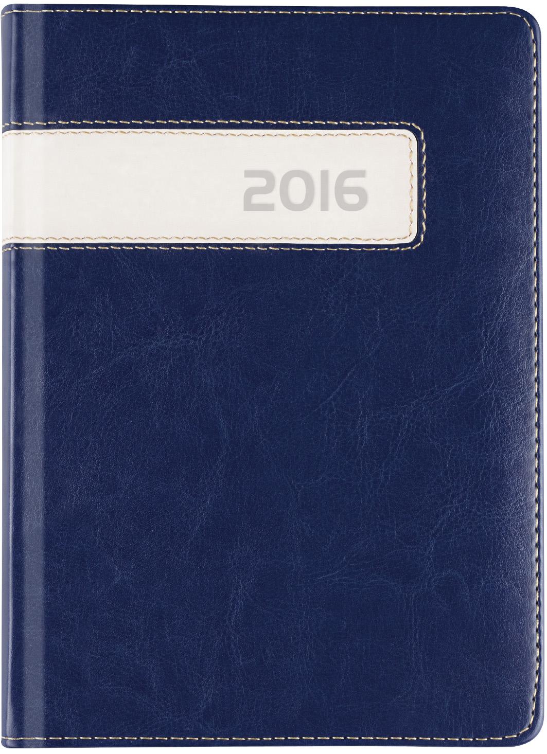 C600RD Kalendarz książkowy dzienny A4 z registrami,  combo