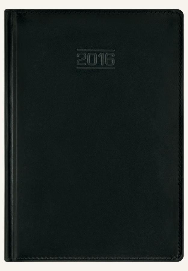 TL1 Kalendarz książkowy A4 max skóra naturalna